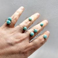 Prsten Amazonit, na lanku.