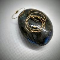 167. Prsten zlatá kostka