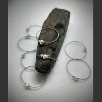177. Prsten bílá perla